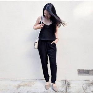 Zara TRF Black Jumpsuit